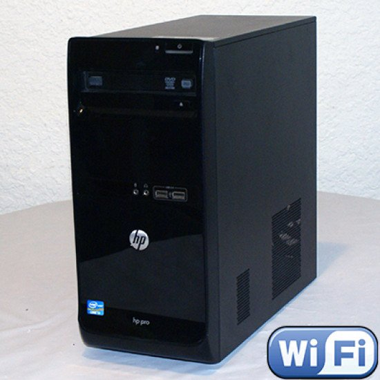 HP Pro 3500 Desktop i3 @ 3 40 GHz 4GB Ram 250GB HDD Windows 10 Pro