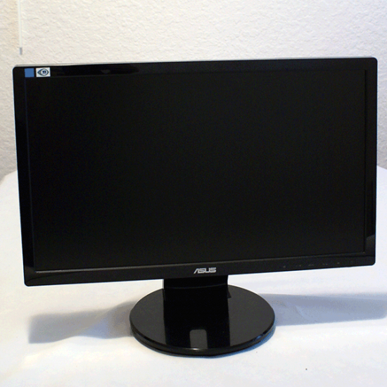 "ASUS VE208T 20"" Widescreen LED LCD Monitor, built-in Speakers"